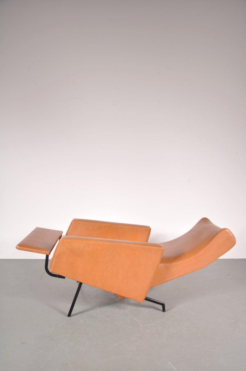 chaise trelax par pierre guariche pour meurop 1950s en. Black Bedroom Furniture Sets. Home Design Ideas