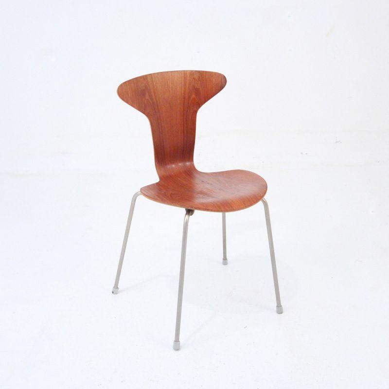chaise mosquito par arne jacobsen en vente sur pamono. Black Bedroom Furniture Sets. Home Design Ideas