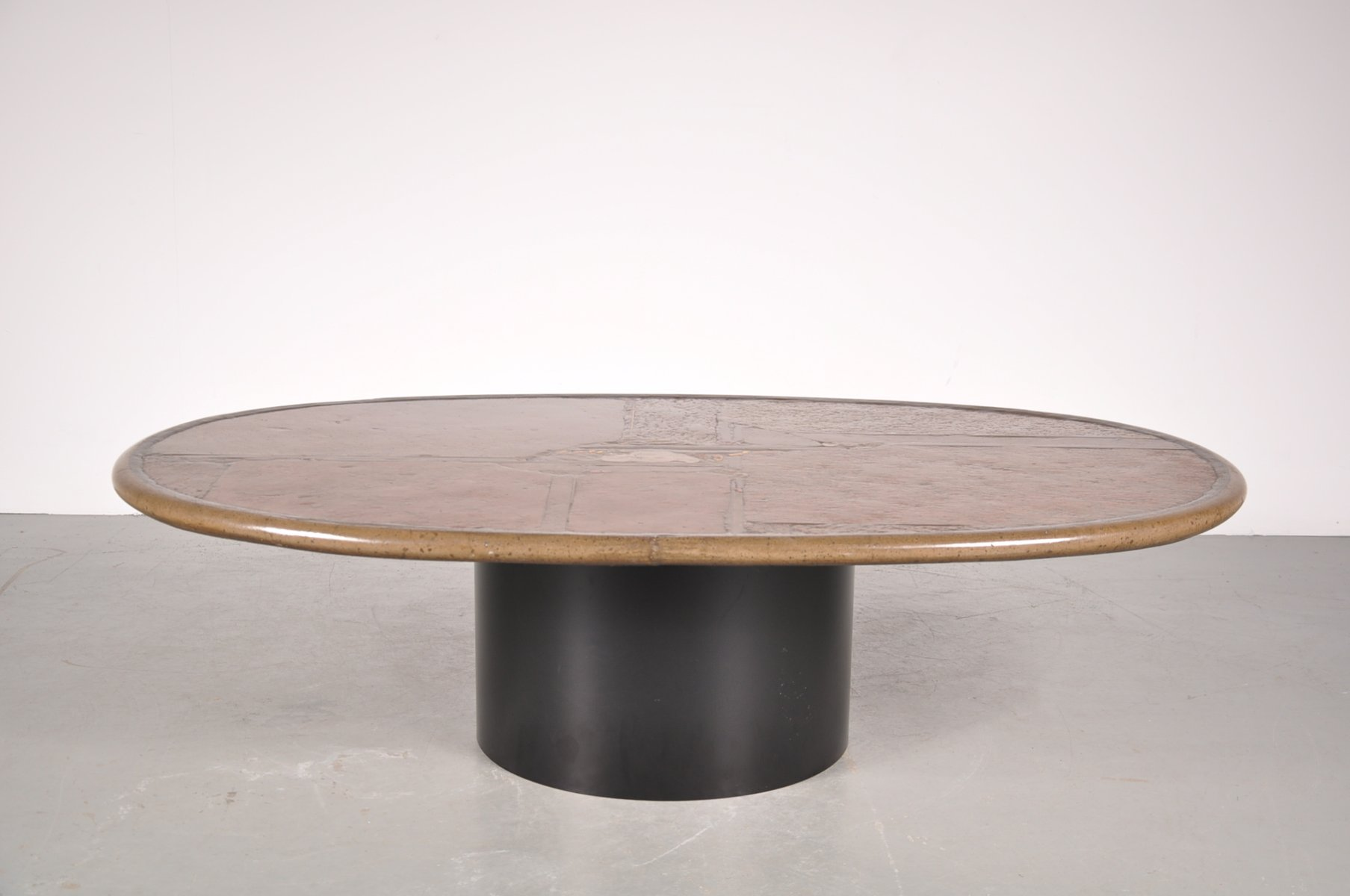 Vintage Stone Coffee Table by Paul Kingma 1993 for sale at Pamono