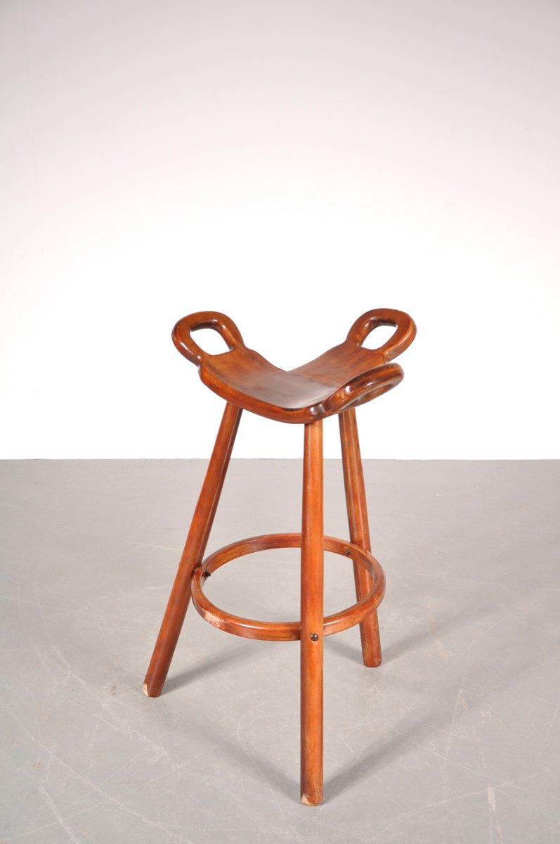 Spanish Brutalist Marbella Bar Stools from Confonorm Set  : spanish brutalist marbella bar stools from confonorm set of 3 5 from www.pamono.com size 797 x 1200 jpeg 42kB