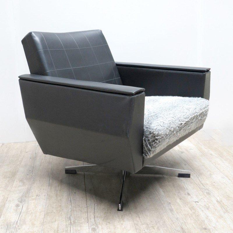 fauteuil pivotant vintage en cuir 2 Résultat Supérieur 50 Élégant Fauteuil Pivotant Cuir Image 2017 Zat3