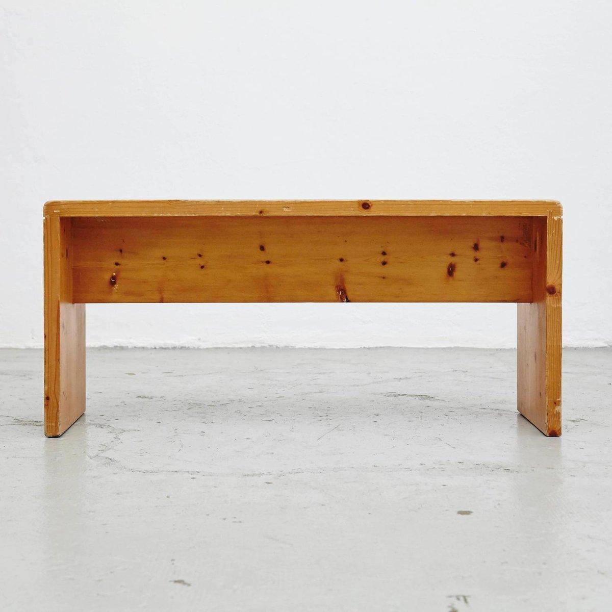 banc les arcs par charlotte perriand 1960s en vente sur pamono. Black Bedroom Furniture Sets. Home Design Ideas