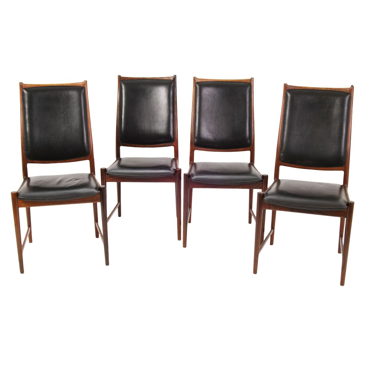 vintage norwegian model bruksbo dining chairs from