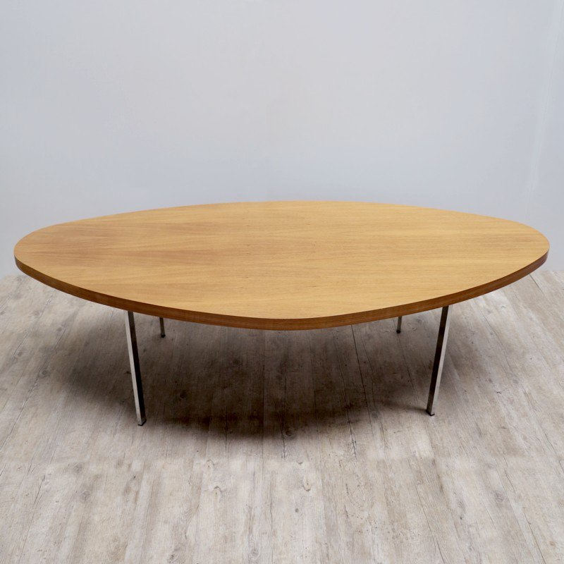 Vintage Oval Coffee Table For Sale At Pamono
