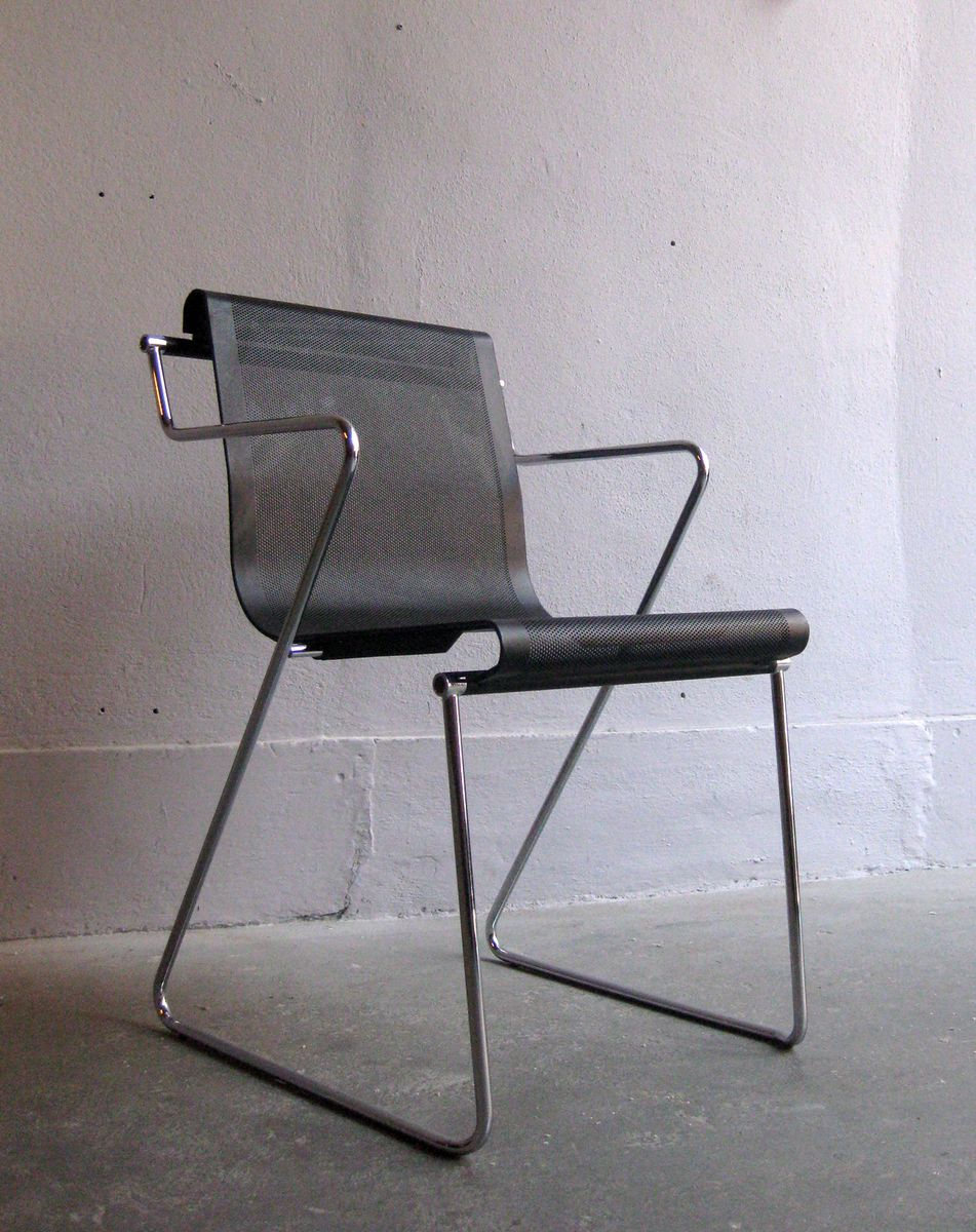 Vintage Metal Office Chair For Sale At Pamono