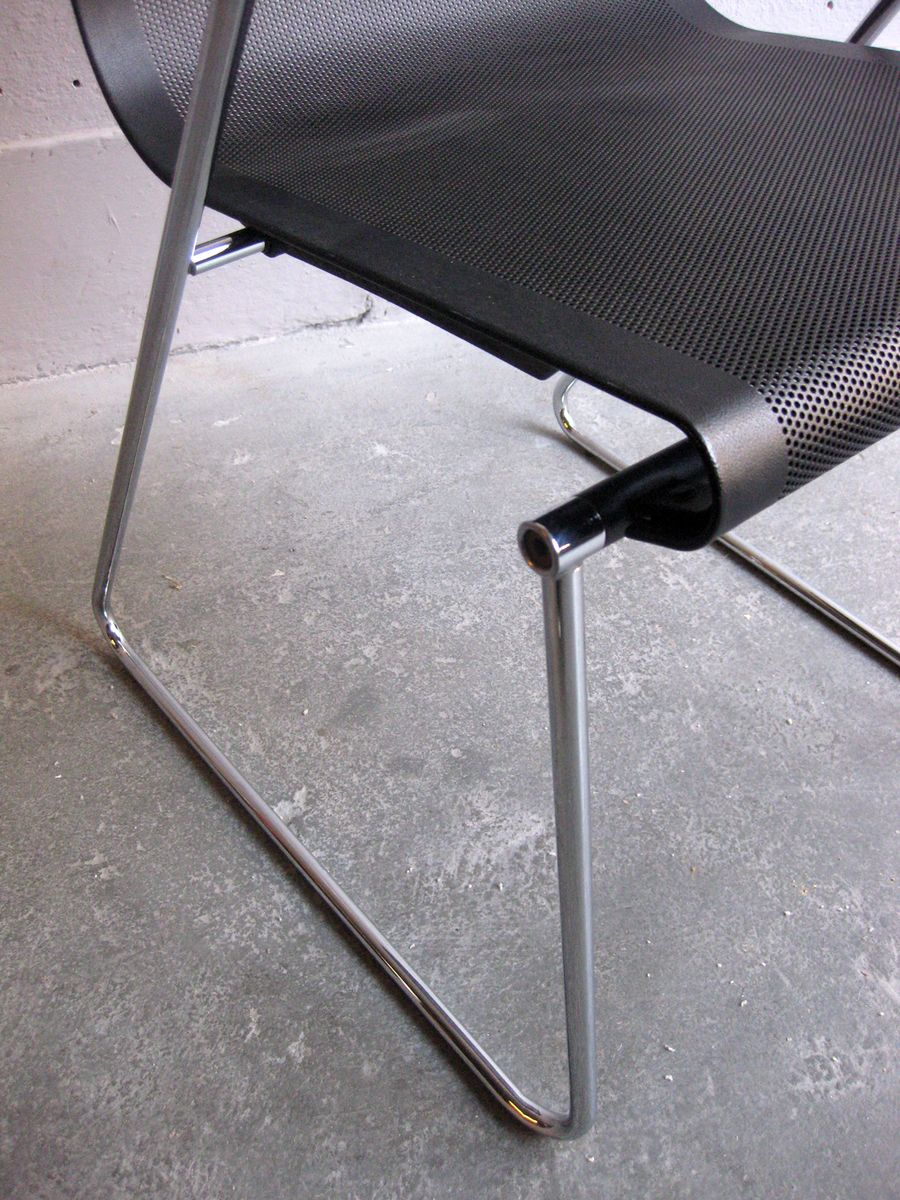 Vintage Metal fice Chair for sale at Pamono