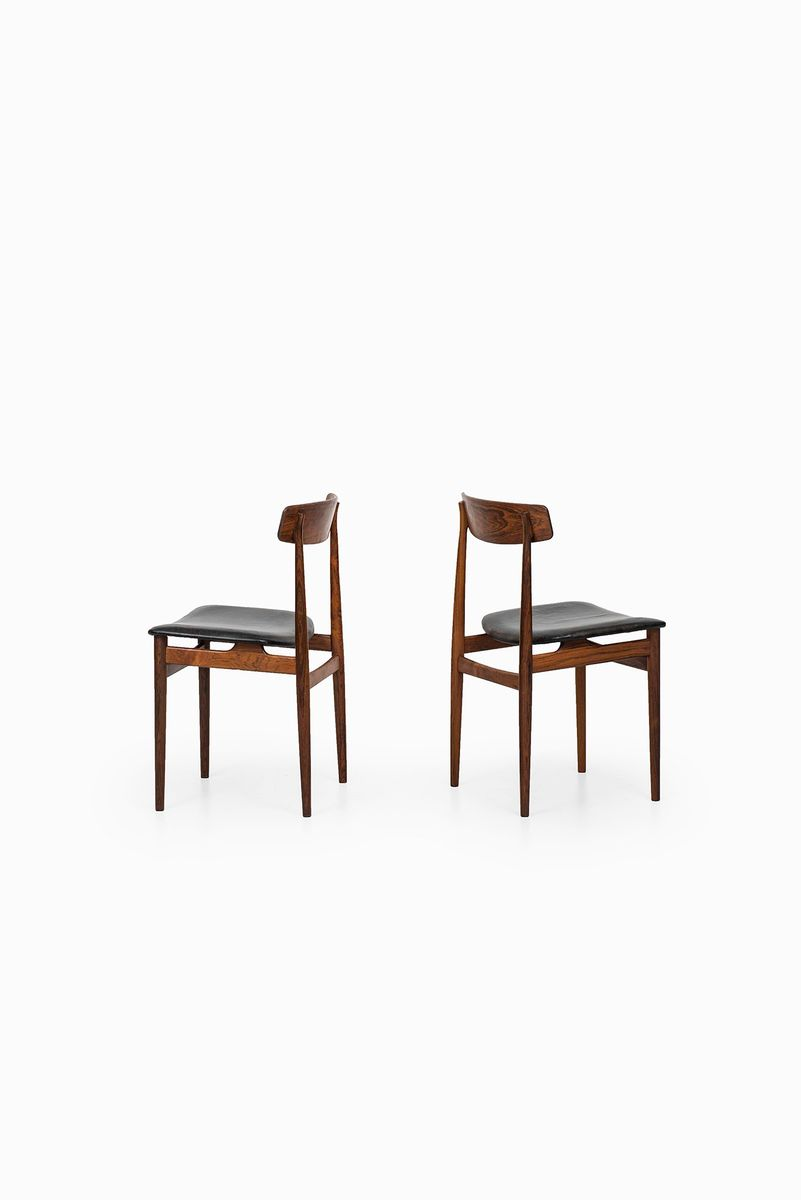 Mid century rosewood dining chairs set of 6 for sale at for Set of 6 dining chairs