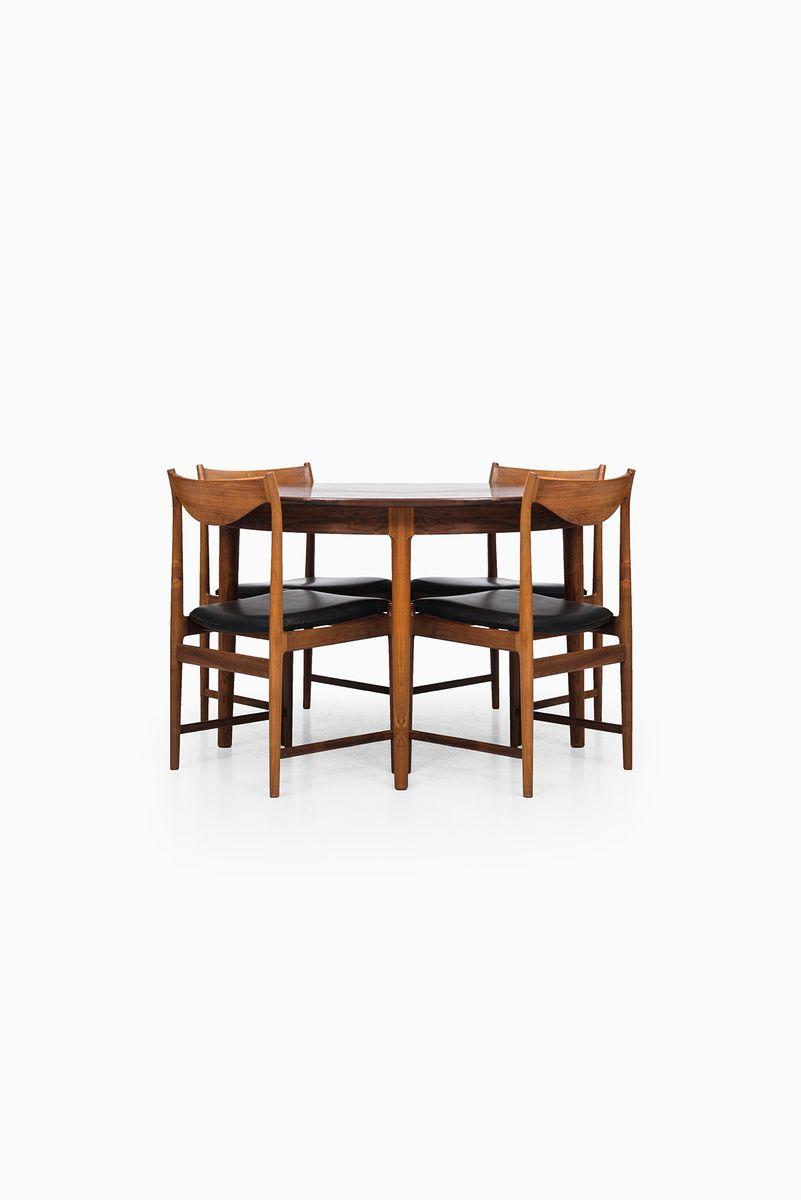 Mid Century Dining Set by Torbj248rn Afdal Darby for sale at  : mid century dining set by torbjorn afdal darby 6 from www.pamono.eu size 801 x 1200 jpeg 31kB