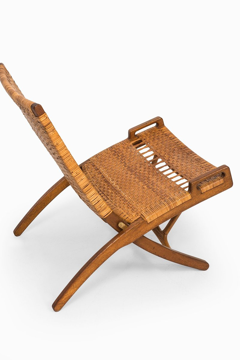 Mid Century JH512 Folding Chair by Hans Wegner for sale at Pamono