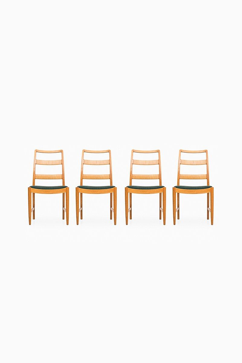 Mid Century Dining Chairs By Bertil Fridhagen, Set Of 4
