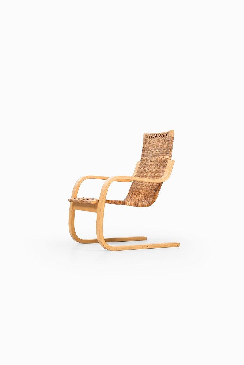 Cantilever easy chair 406 by alvar aalto for artek for for Alvar aalto chaise