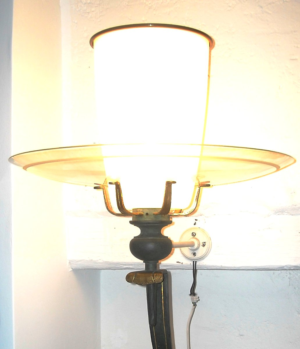 Wall Lamps Vintage : Vintage Church Wall Lamps, Set of 2 for sale at Pamono