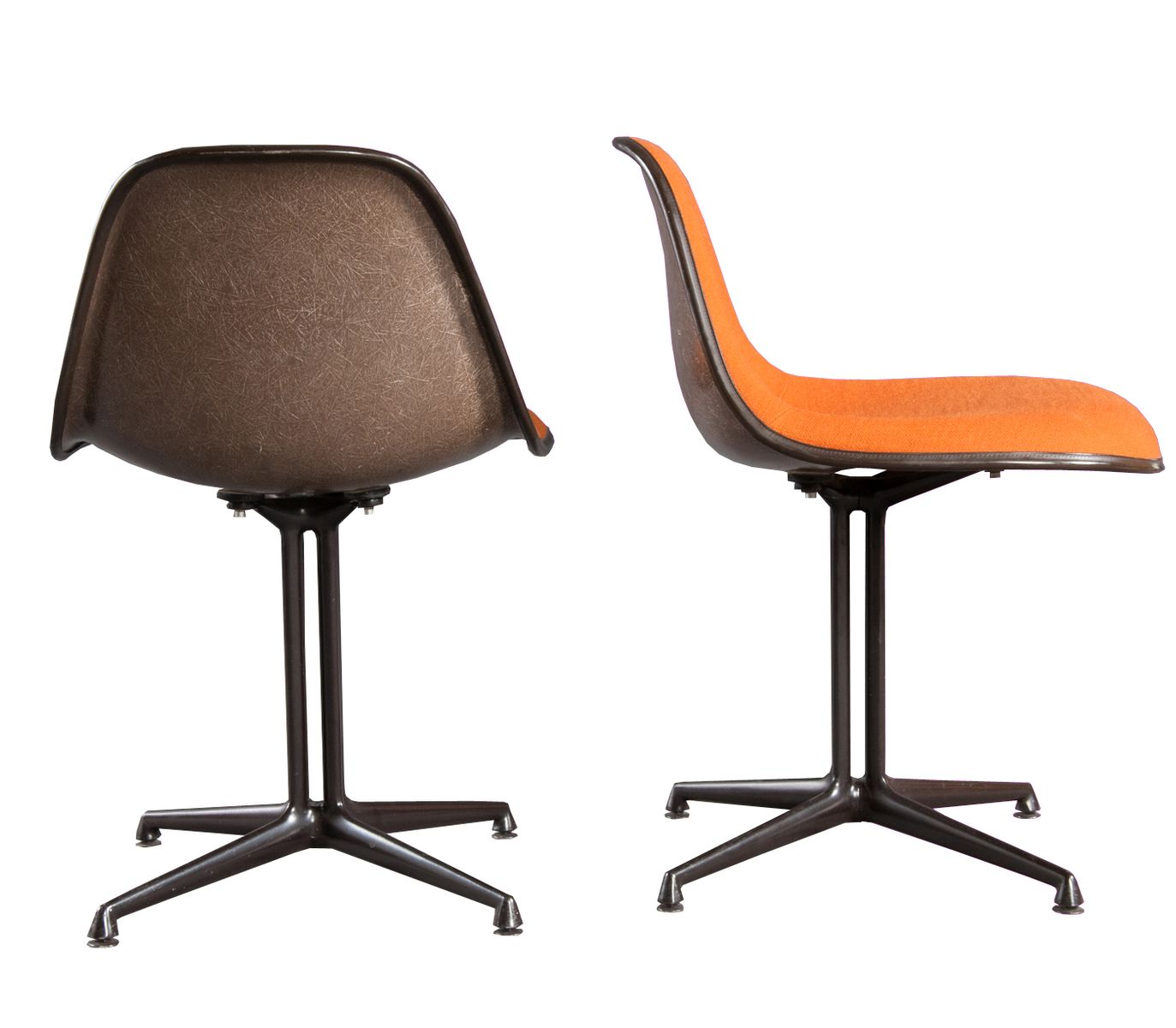 amerikanischer la fonda stuhl von charles ray eames f r. Black Bedroom Furniture Sets. Home Design Ideas
