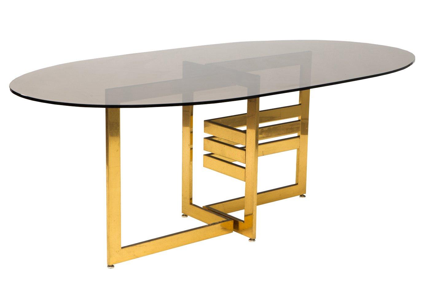 italienisches esszimmerset mit tisch und freischwebenden st hlen von cidue italy 1960er 7er. Black Bedroom Furniture Sets. Home Design Ideas