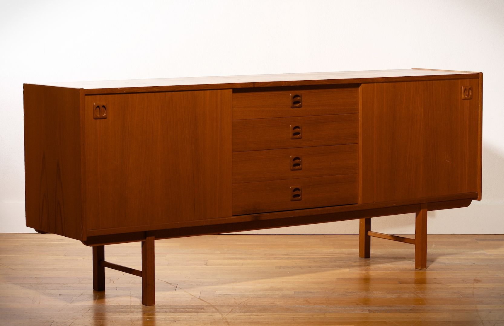 swedish sideboard by erik w rtz for ikea 1960s for sale at pamono. Black Bedroom Furniture Sets. Home Design Ideas