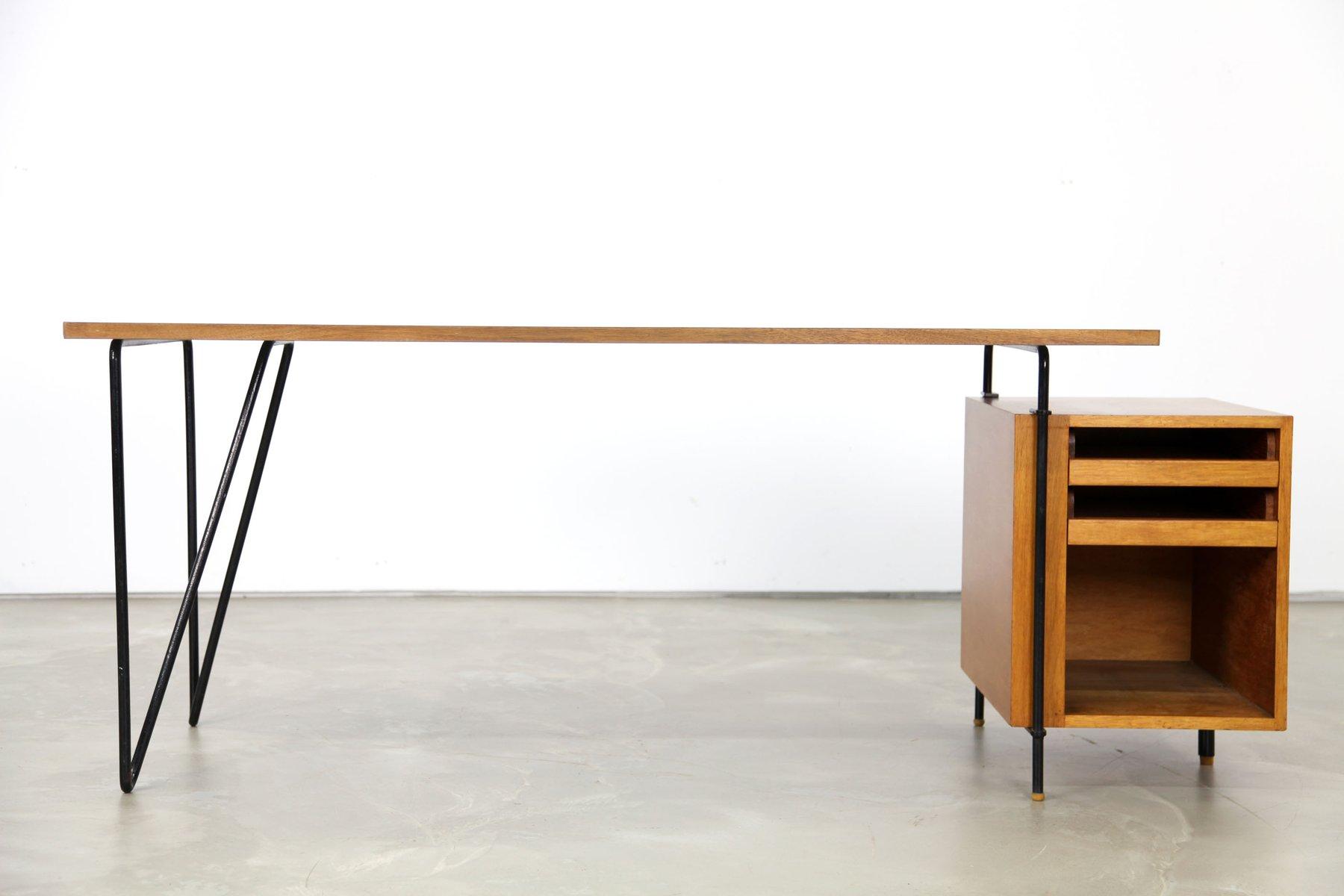 deutscher architekten schreibtisch 1950er bei pamono kaufen. Black Bedroom Furniture Sets. Home Design Ideas