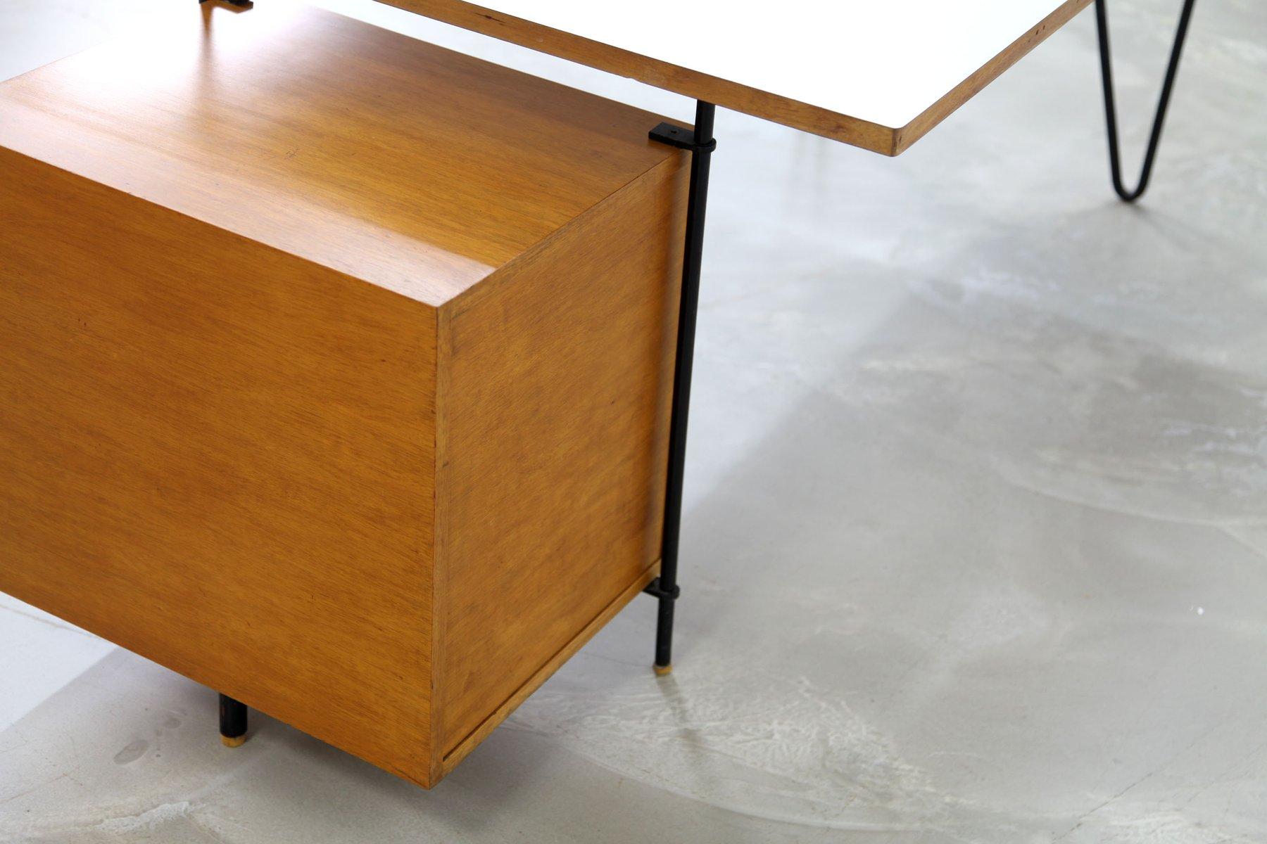 Deutscher architekten schreibtisch 1950er bei pamono kaufen for Schreibtisch auf englisch