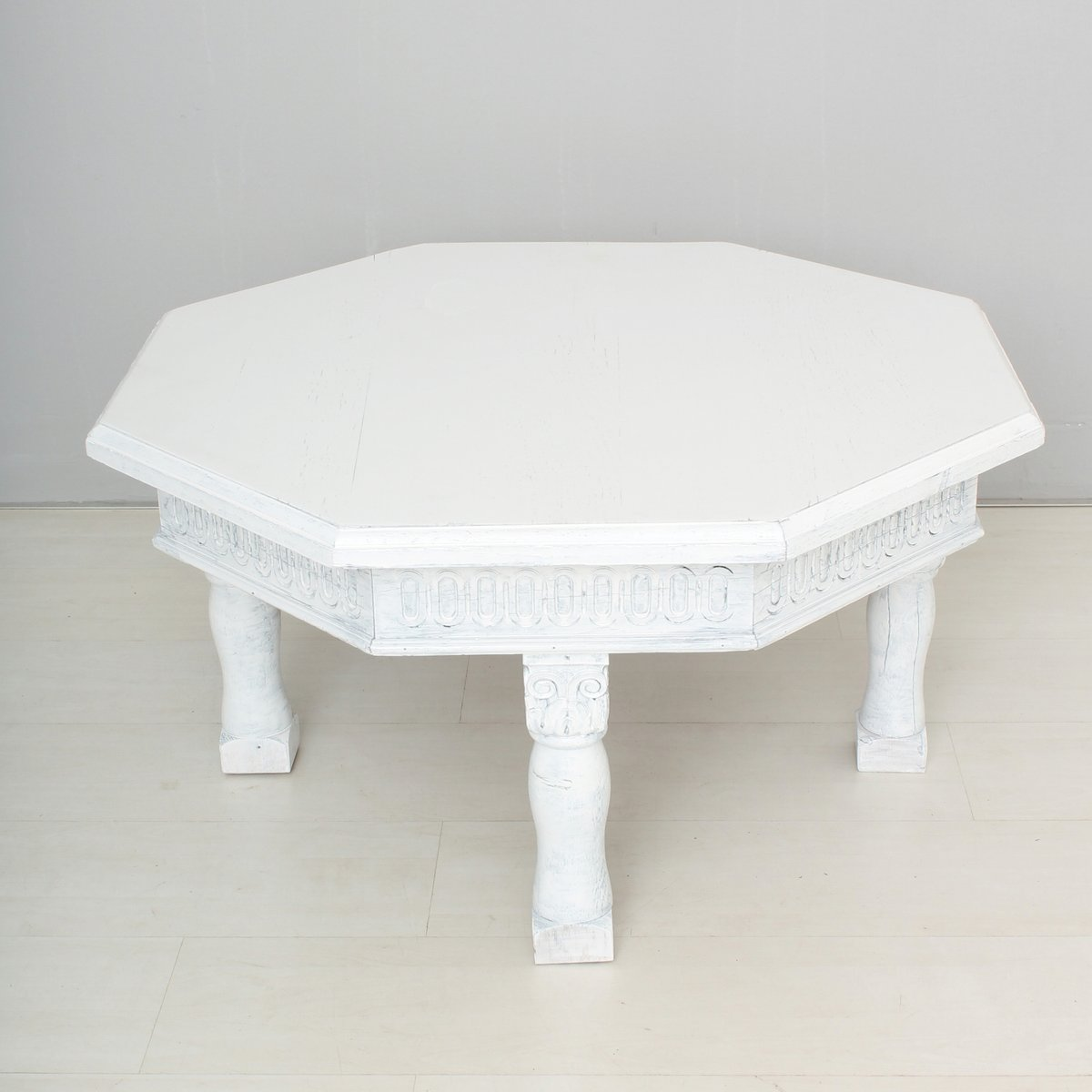 Table basse vintage blanche en vente sur pamono - Tables basses blanches ...