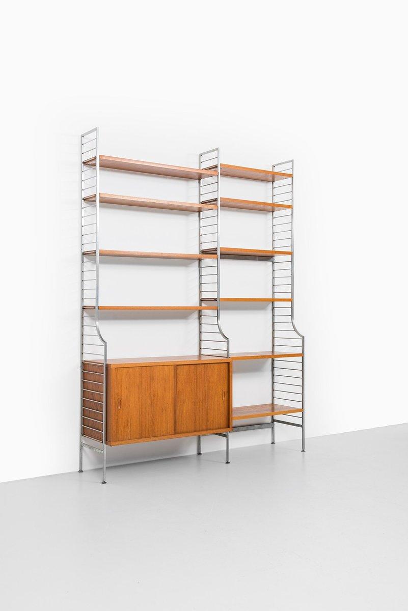 continental shelf by nisse strinning for string design ab 1950s for sale at pamono. Black Bedroom Furniture Sets. Home Design Ideas