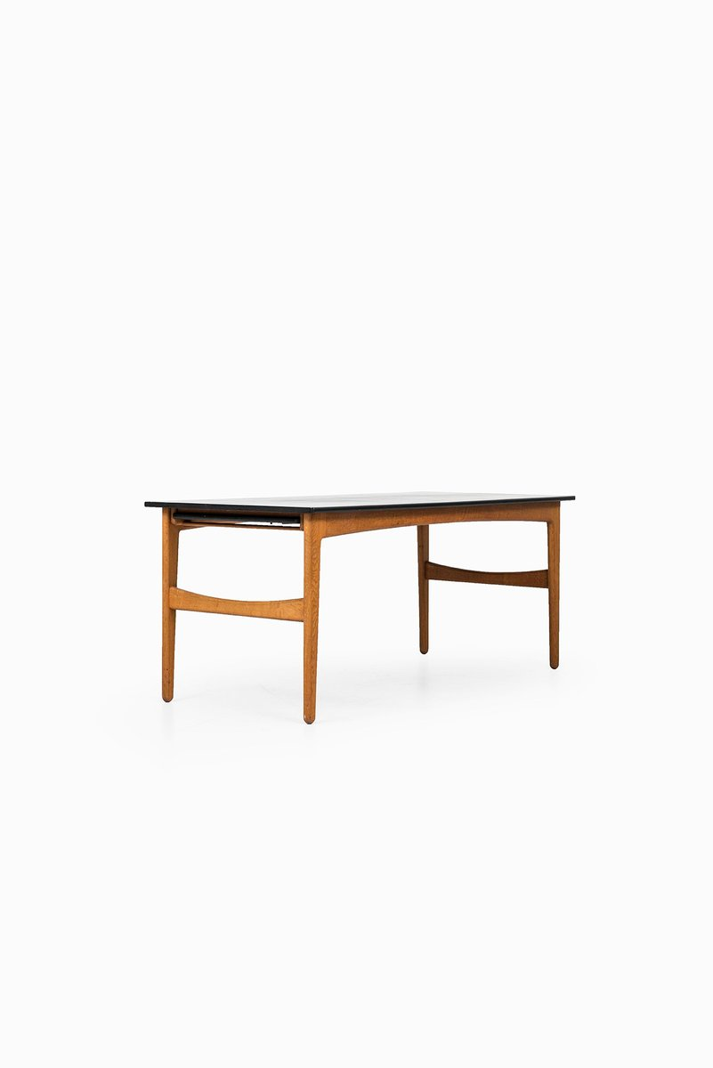 Oak Dining Table by Knud Andersen for J.C.A Jensen, 1950s - Oak Dining Table By Knud Andersen For J.C.A Jensen, 1950s For Sale