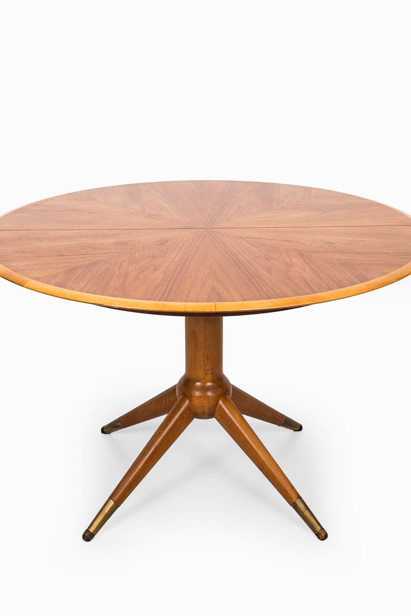 Round Dining Table By David Ros N For Nordiska Kompaniet 1950s For Sale At Pamono
