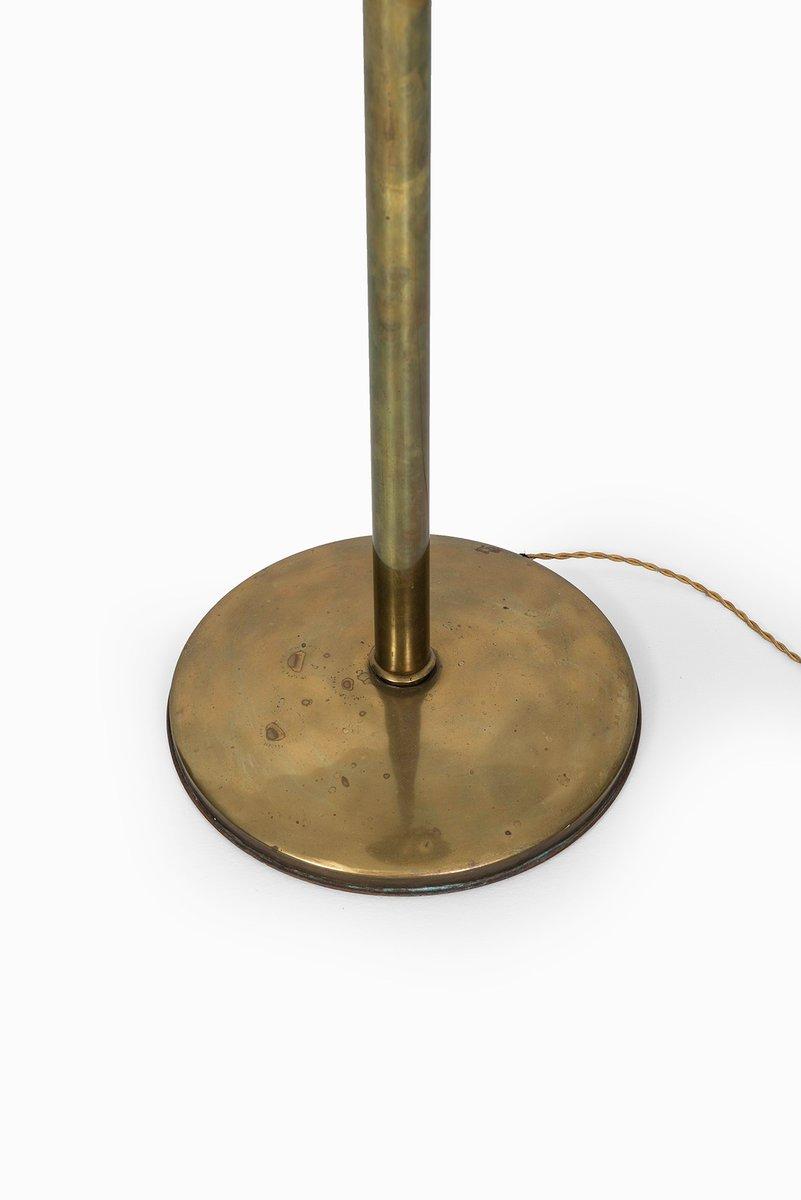 Mid-Century Brass Floor Lamp for sale at Pamono
