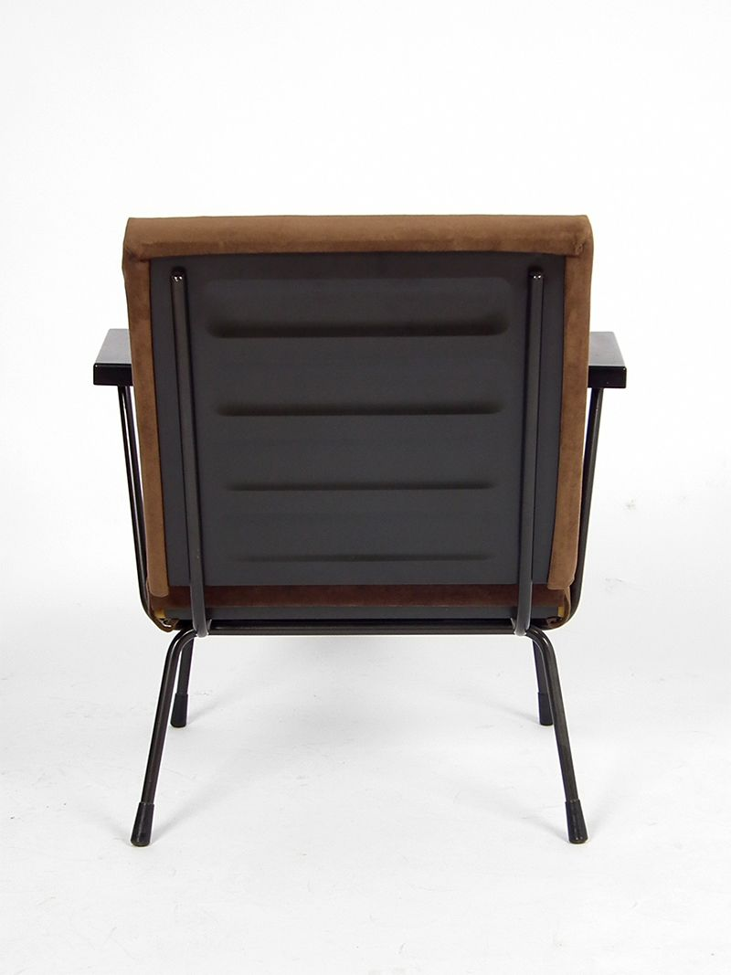 Brown Armchair Vintage Brown Armchair By Wim Rietveld For Gispen For Sale At Pamono