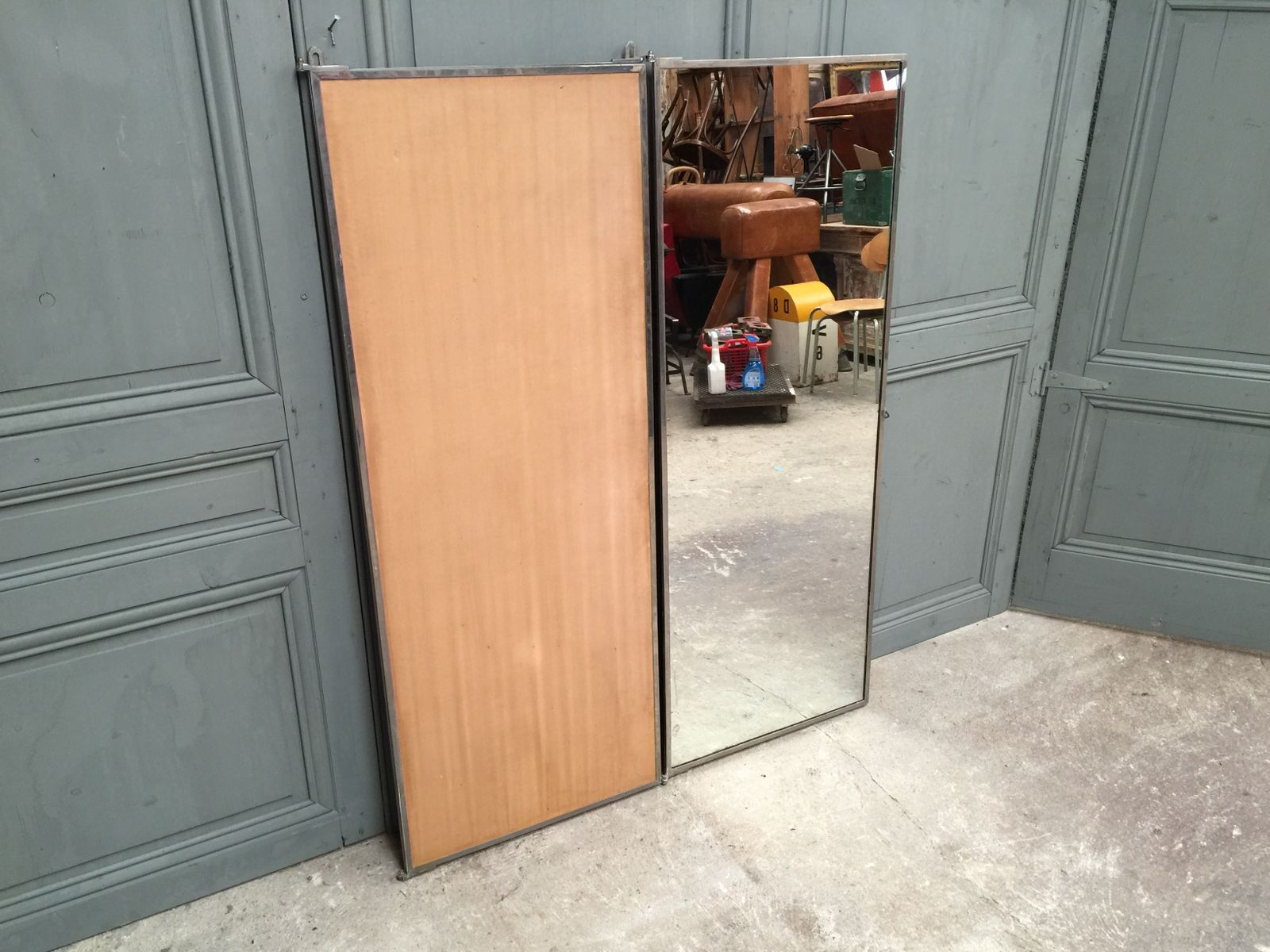 Miroir vintage tryptique de brot france 1920s en vente for Miroir brot paris