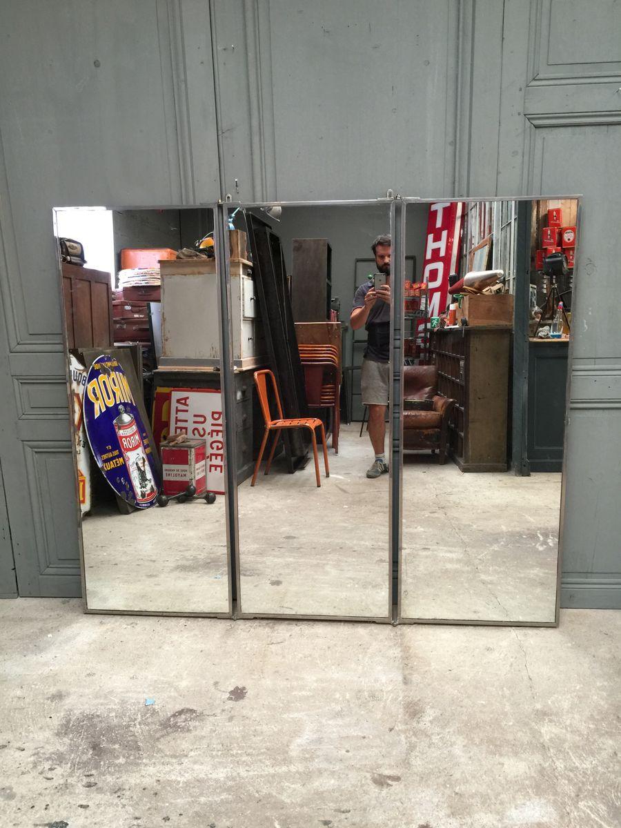 Miroir vintage tryptique de brot france 1920s en vente - Miroir tryptique castorama ...