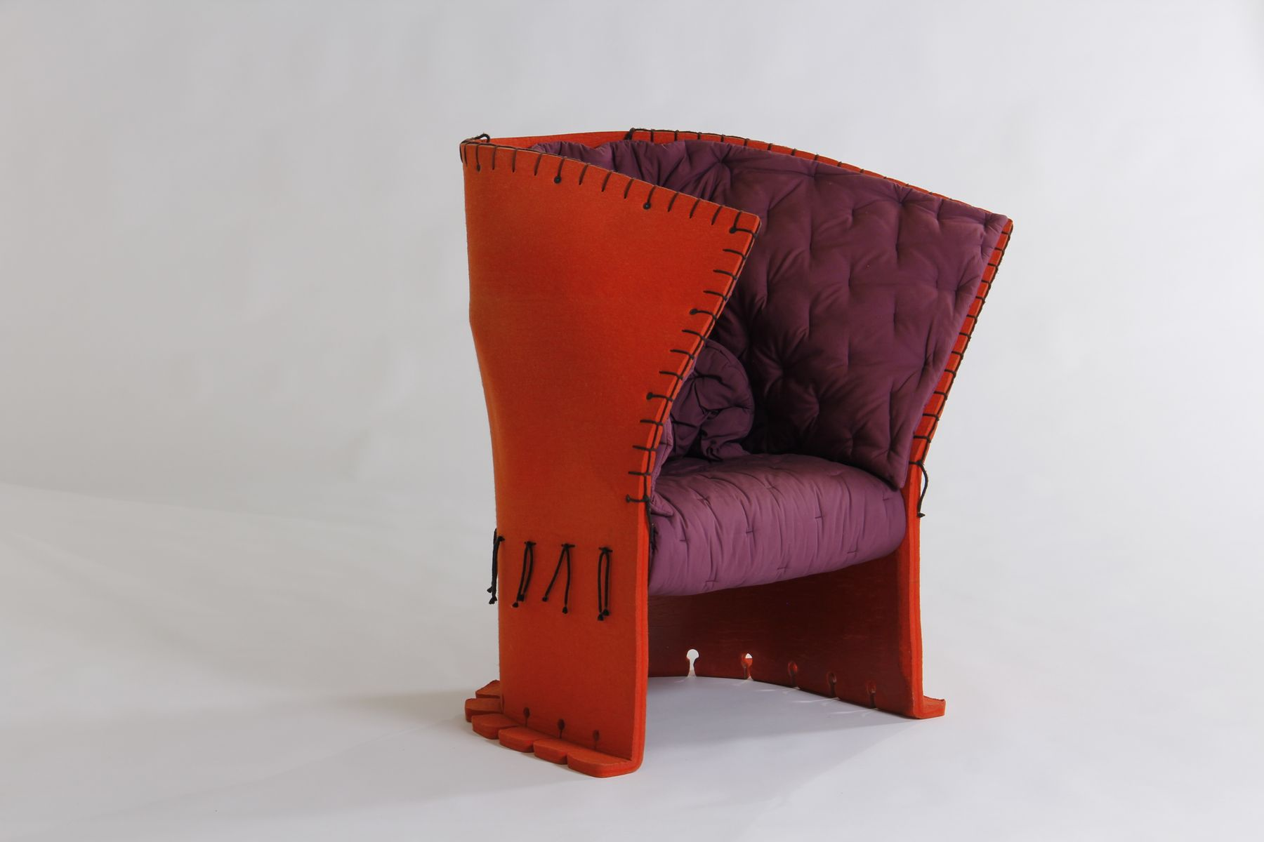 Italian feltri chair by gaetano pesce for cassina 1980s for 1980s chair