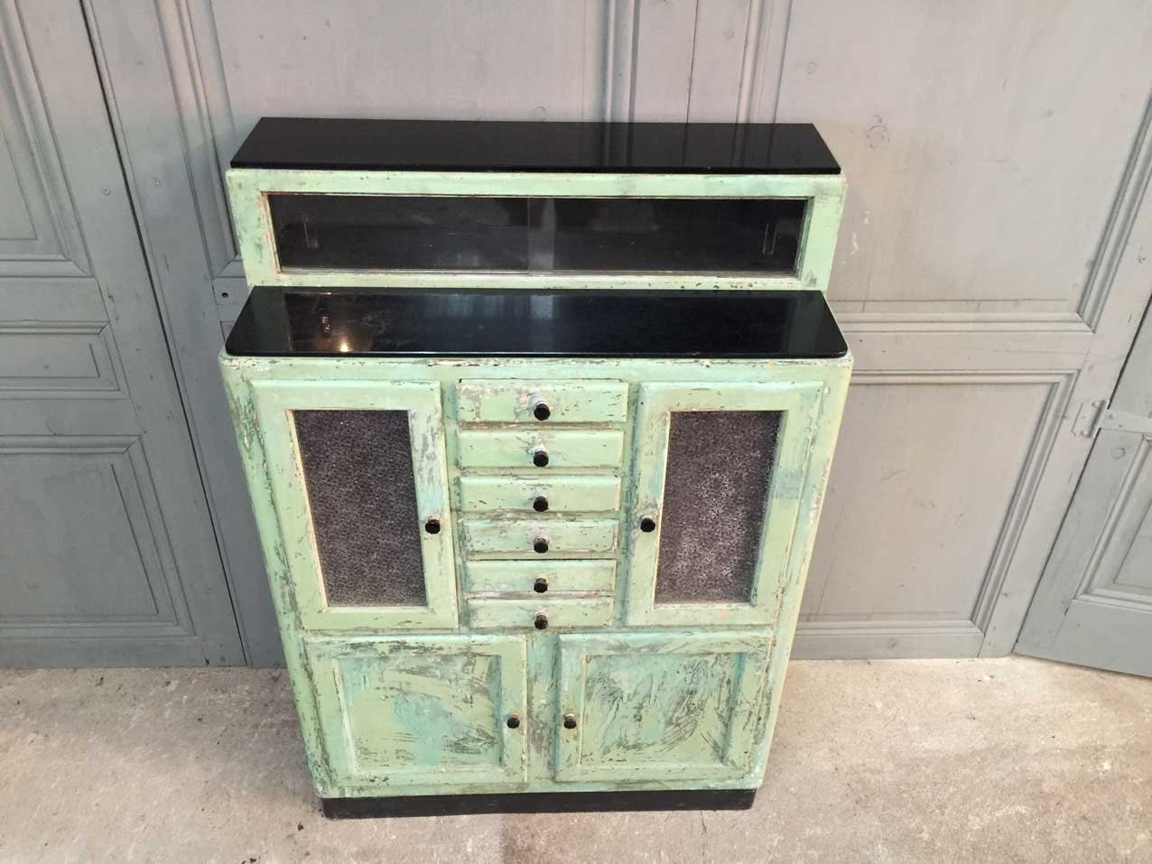 Antique Metal Dental Cabinet French Wooden Dentist Cabinet 1950 For Sale At Pamono