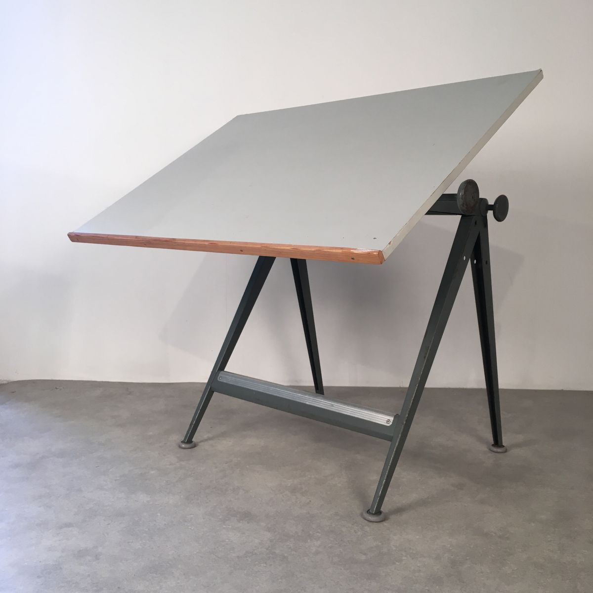 Mid Century Reply Drafting Table By Friso Kramer amp Wim