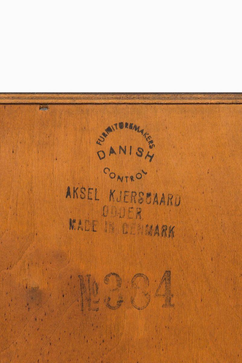 mid century teak kommode und spiegel von aksel kjersgaard f r odder bei pamono kaufen. Black Bedroom Furniture Sets. Home Design Ideas