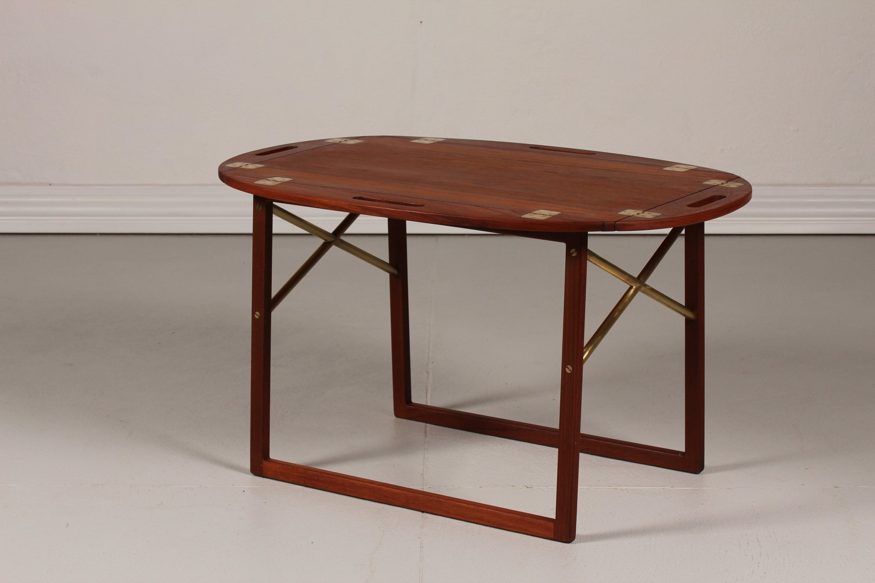 Teak Tray Coffee Table By Svend Langkilde For Illums Bolighus 1960s For Sale At Pamono