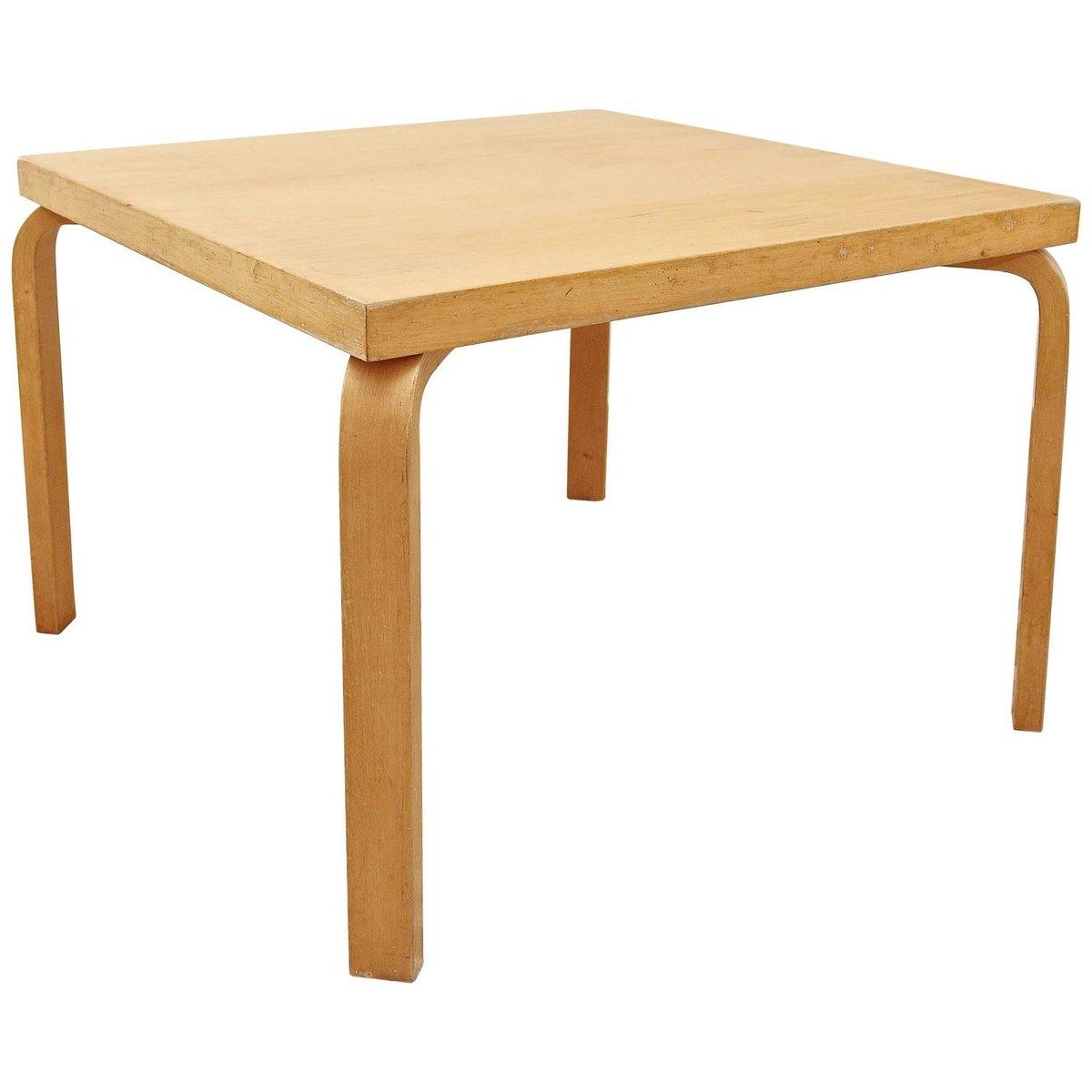 finnish dining table by alvar aalto for artek 1960s for sale at pamono. Black Bedroom Furniture Sets. Home Design Ideas