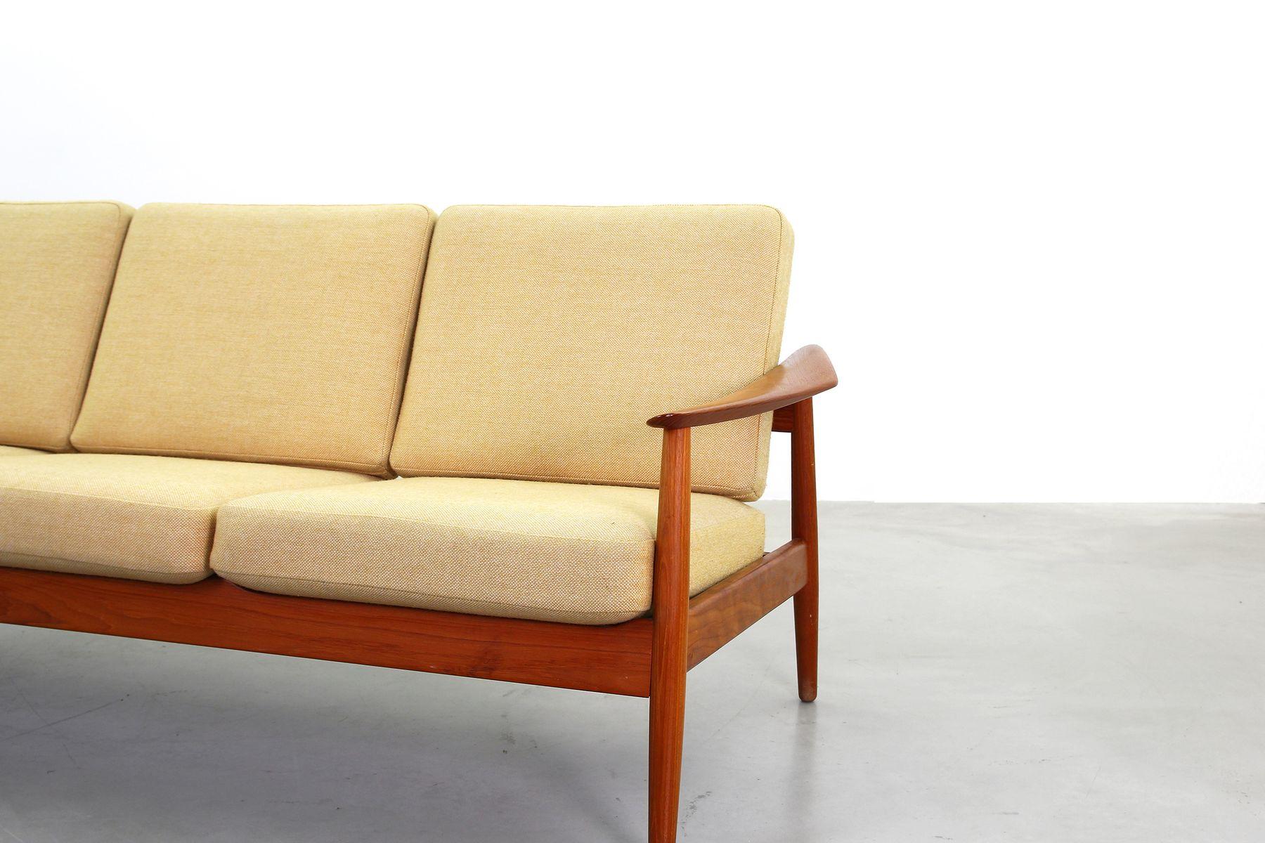 Mid Century Danish Teak Sofa By Arne Vodder For France S N 1960s For S