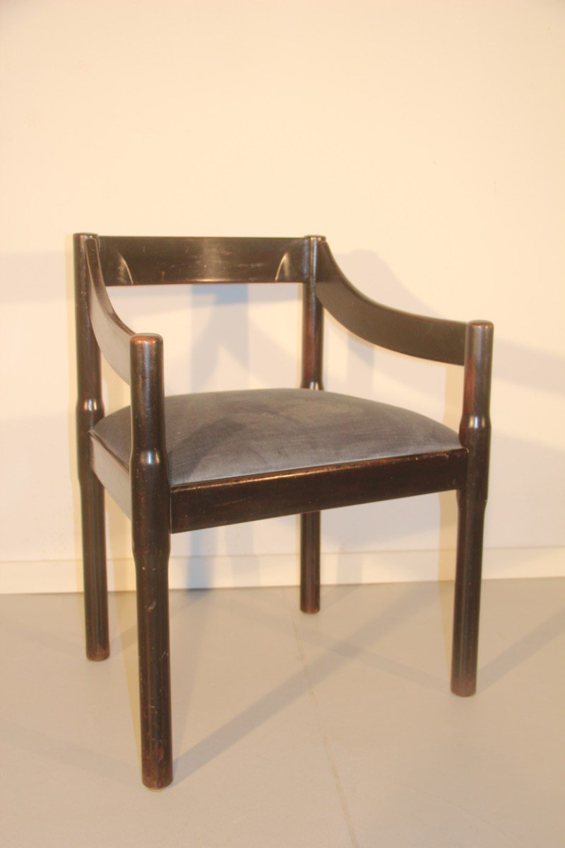 Italian carimate chair by vico magistretti for cassina for Chair in italian
