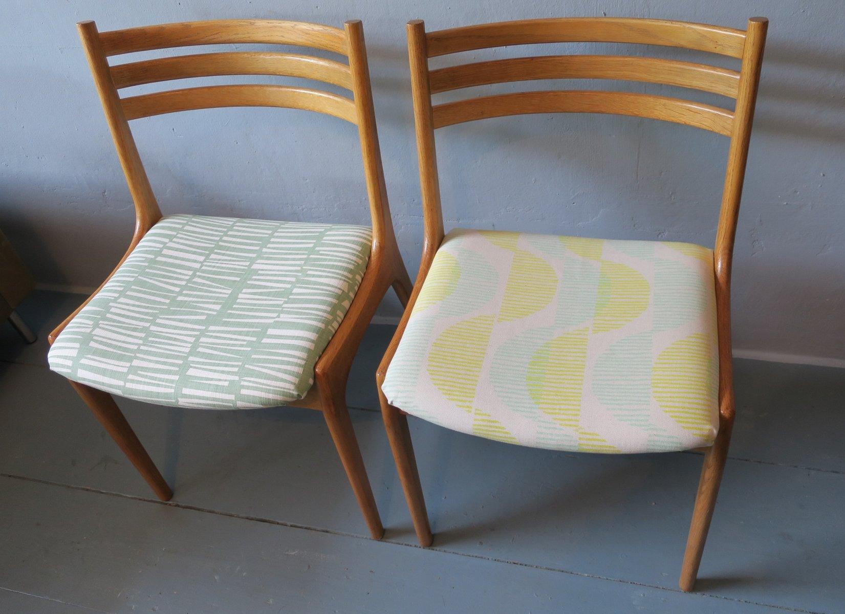 d nische st hle aus ulmenholz 1960er 2er set bei pamono kaufen. Black Bedroom Furniture Sets. Home Design Ideas