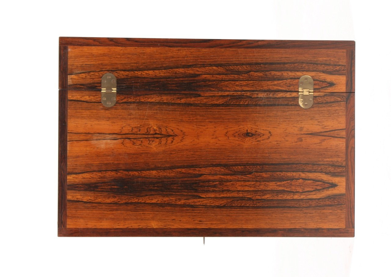 danish rio rosewood dry bar cabinet 1960s for sale at pamono. Black Bedroom Furniture Sets. Home Design Ideas