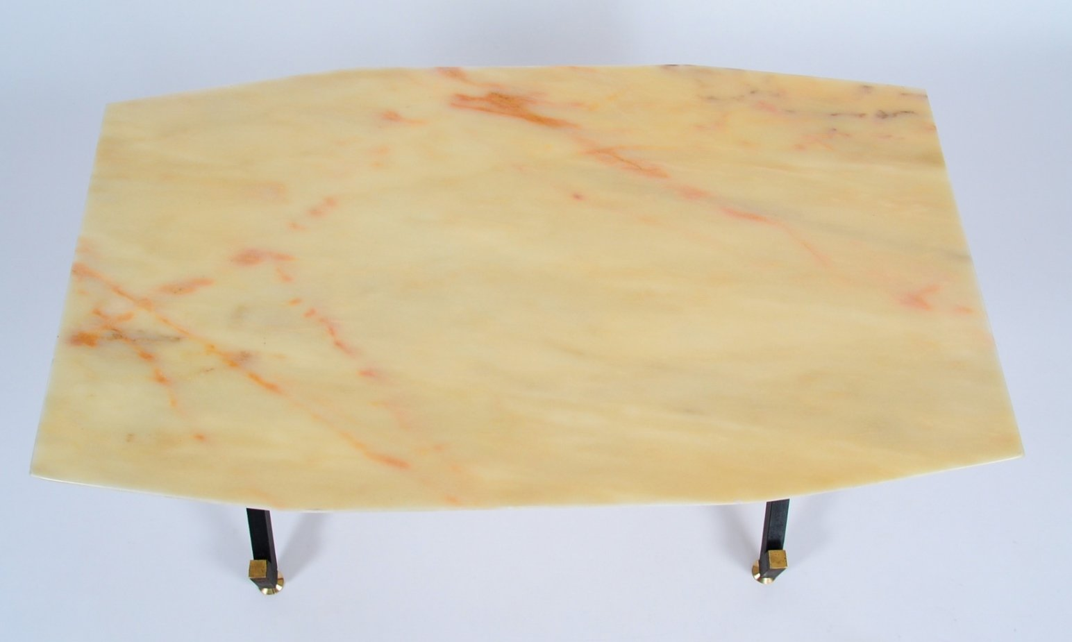 Italian Coffee Tables Marble Italian Coffee Table With A Marble Top 1960s For Sale At Pamono