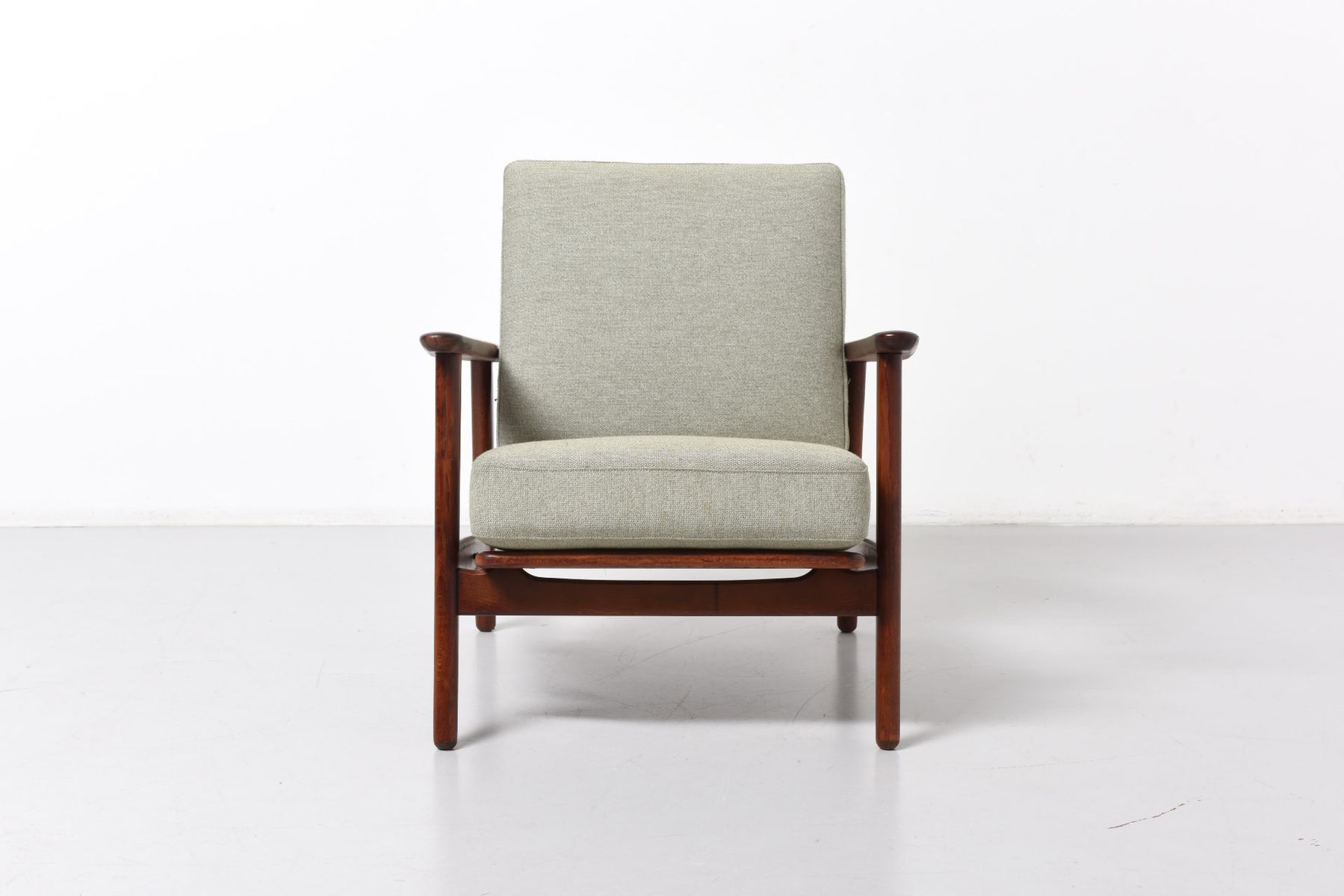 ge 233 sessel von hans j wegner f r getama bei pamono kaufen. Black Bedroom Furniture Sets. Home Design Ideas