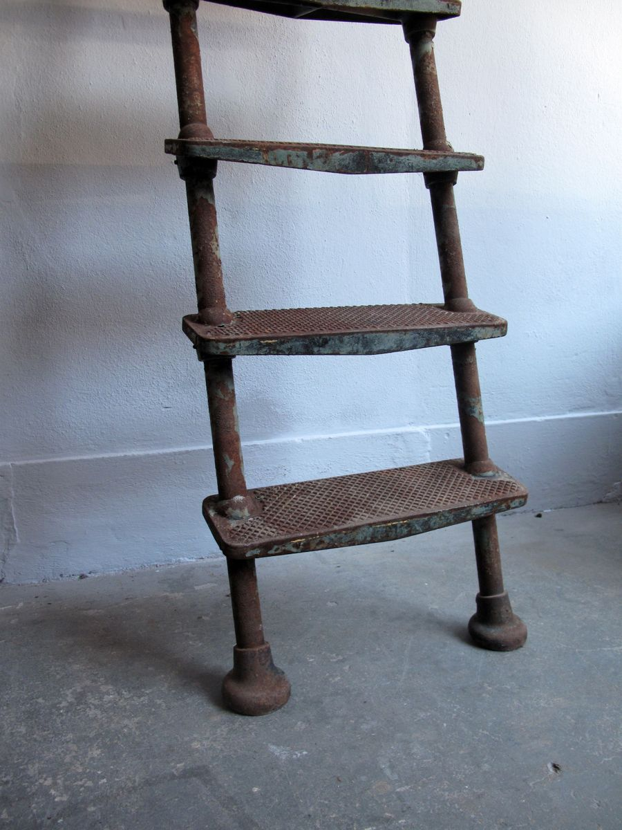 Antique Cast Iron Ship Ladder for sale at Pamono