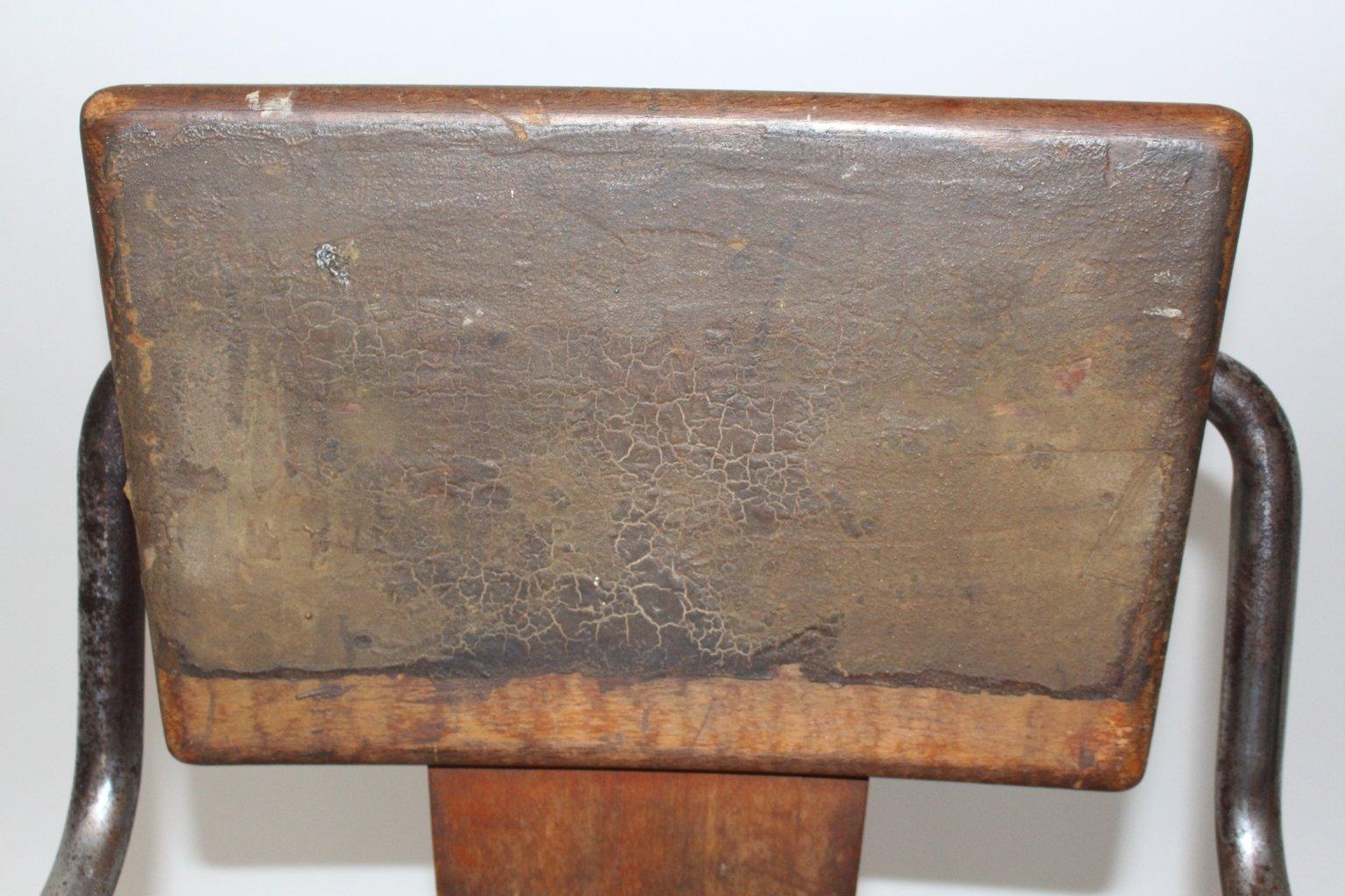 Vintage Tubular Steel Chair By Peter Behrens 1930s En Venta En Pamono # Muebles Peter Behrens
