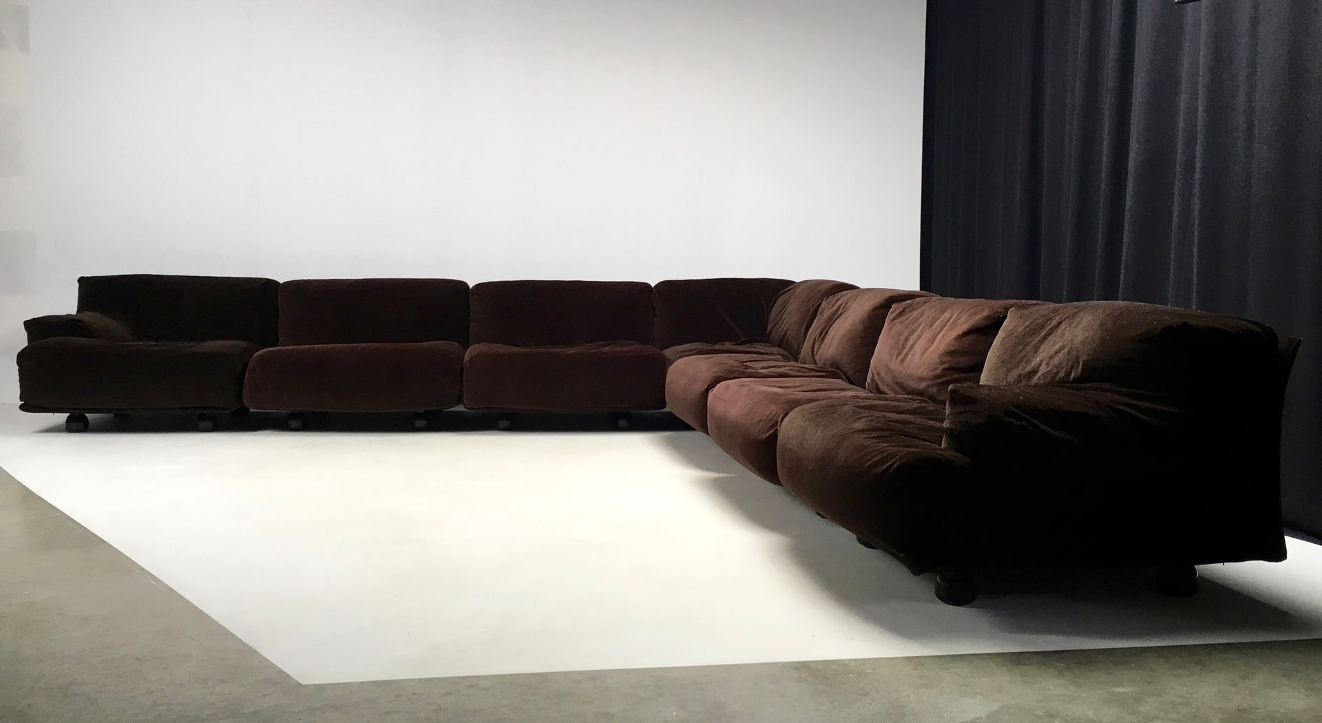 large modular fiandra sofa by vico magistretti for cassina 1977 4