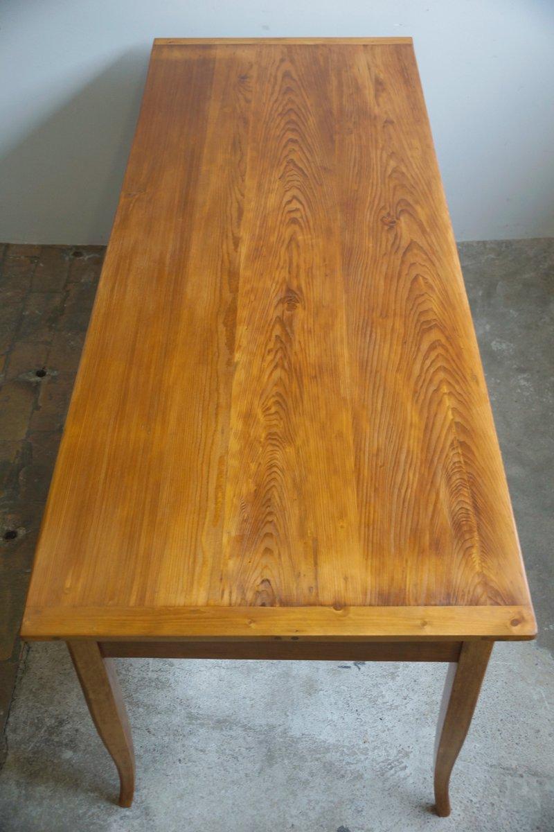Grande table de salle manger antique biedermeier en for Grande table de salle a manger design