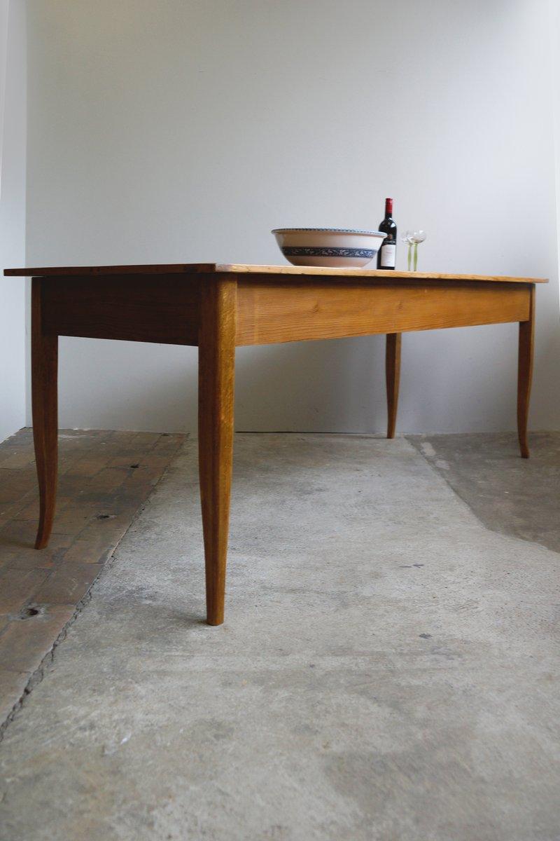 grande table de salle manger antique biedermeier en. Black Bedroom Furniture Sets. Home Design Ideas