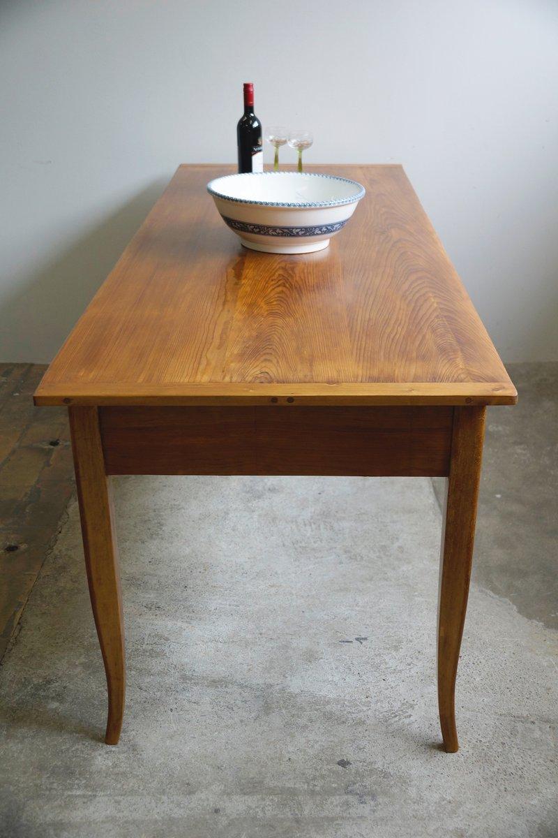 grande table de salle manger antique biedermeier en vente sur pamono. Black Bedroom Furniture Sets. Home Design Ideas
