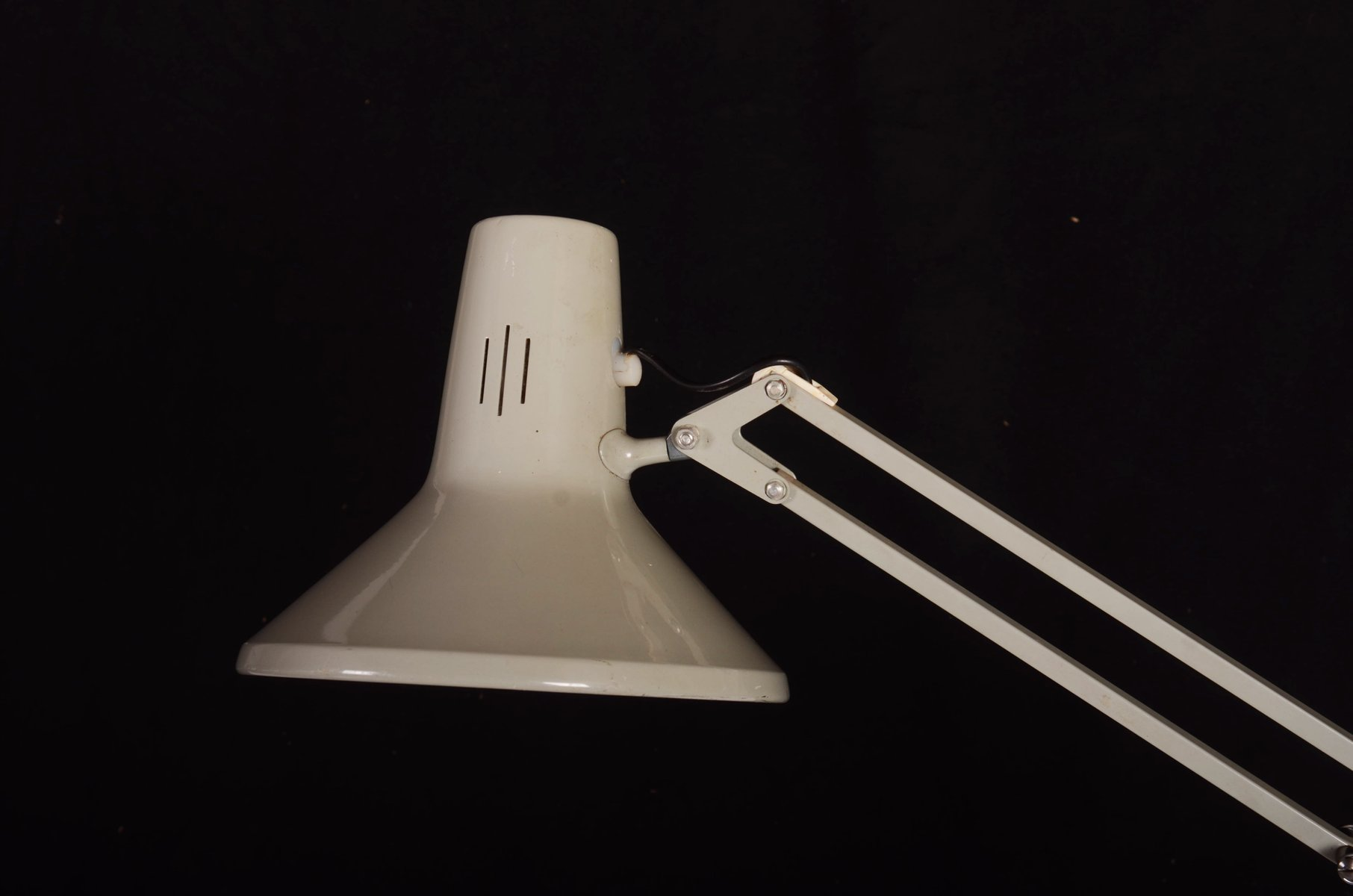 small grey desk lamp from luxo for sale at pamono - small grey desk lamp from luxo
