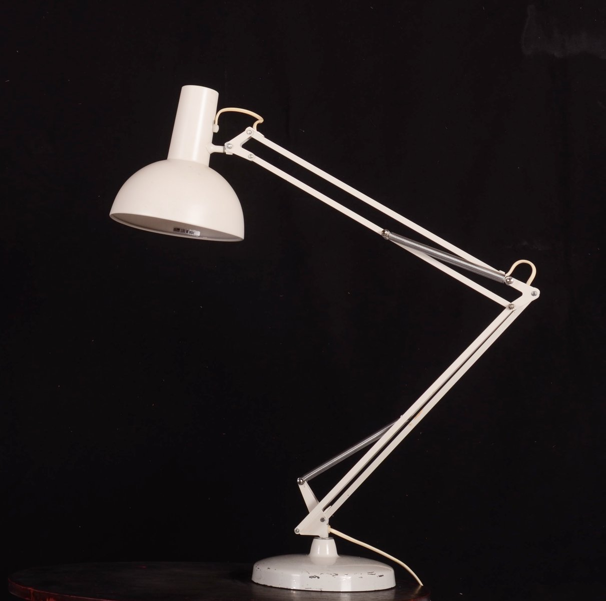 steel table lamp by louis poulsen 1970s for sale at pamono. Black Bedroom Furniture Sets. Home Design Ideas