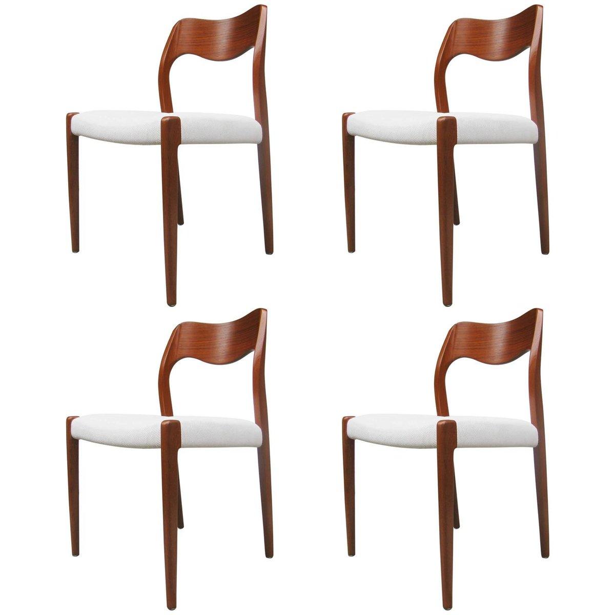 Chaises de salle manger mod le 71 par niels otto m ller for Modele chaise salle a manger